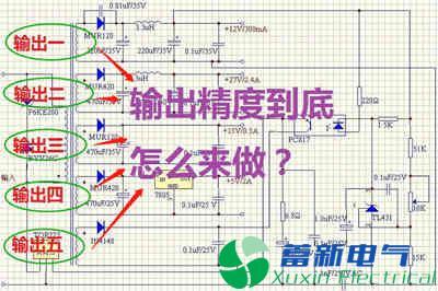 如何提高多路输出高频开关电源的能量分配与输出精度?